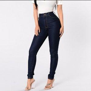Fashion novs jeans High-waisted